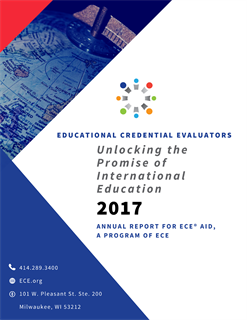 2017 ECE Aid Annual Report PDF Cover