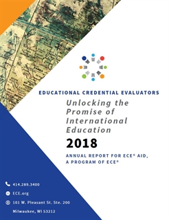 2018 ECE Aid Annual Report PDF Cover