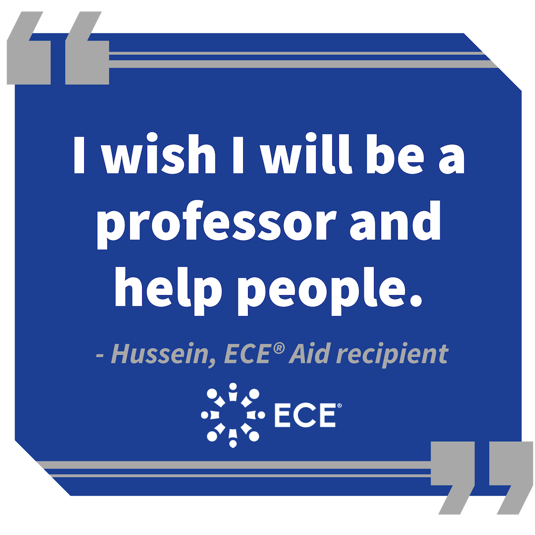 Hussein ECE Aid Story